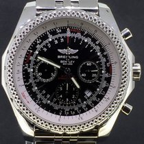 Breitling Bentley Motors Special Edition 48MM Steel Black Dial...