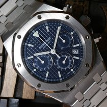 Audemars Piguet Royal Oak Chrono Kasparov Blue Dial Unpolished