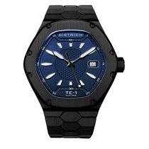 Dietrich Men's TC-1 PVD – BLUE Time Companion 1 – Black PVD