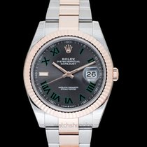 Rolex Rose gold Automatic Grey new Datejust II
