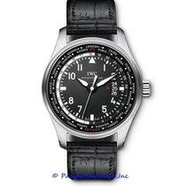 IWC Pilot Worldtimer Steel 45mm Black Arabic numerals United States of America, California, Newport Beach