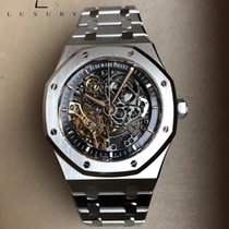 Audemars Piguet Royal Oak Double Balance Wheel Openworked 15407ST.OO.1220ST.01 2018 new