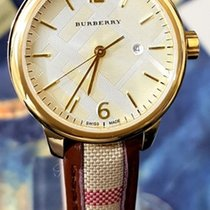 Burberry Steel 29mm Quartz new
