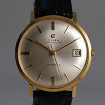 Cyma Yellow gold 35mm Automatic pre-owned