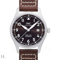 IWC Pilot Mark Steel 40mm Brown