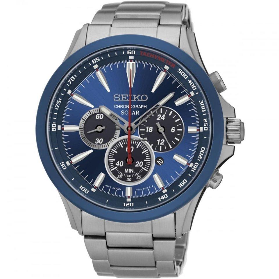 5072974b Seiko Reloj Seiko ssc495p1 de acero hombre colección solar for $362 for  sale from a Private Seller on Chrono24