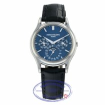Patek Philippe Perpetual Calendar Platinum 37mm Blue United States of America, California, Beverly Hills