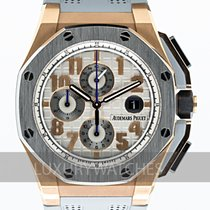 Audemars Piguet Royal Oak Offshore Chronograph Złoto różowe 44mm Szary