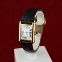 Cartier Tank Louis Cartier Жёлтое золото 21mm Римские