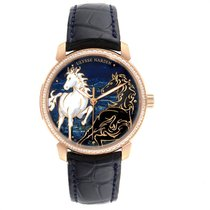Ulysse Nardin pre-owned Automatic 43mm Blue Sapphire Glass