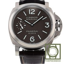 Panerai Luminor Marina 8 Days Titane 44mm Brun Arabes