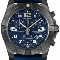 Breitling Chronospace Titan 43mm Blau Arabisch