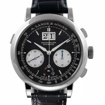 A. Lange & Söhne Datograph Platinum 41mm Black No numerals United States of America, Florida, Sunny Isles Beach