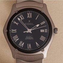 Ebel Sport Titanium 40mm Black Roman numerals