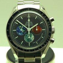 Omega Speedmaster Professional Moonwatch новые 2008 Механические Хронограф Часы с оригинальными документами и коробкой 3577.50.00