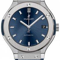 Hublot Classic Fusion Blue Titanium 38mm Blue No numerals