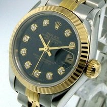 Rolex Lady-Datejust Gold/Steel 26mm Black United States of America, Georgia, Atlanta