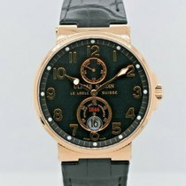 Ulysse Nardin Rose gold 41mm Automatic 266-66-3/62 pre-owned