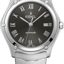 Ebel Sport Steel 40mm Black Roman numerals United States of America, Florida, Miami