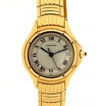 Cartier Cougar 117000r001484 In 18kt Yellow Gold