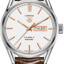 TAG Heuer Carrera Calibre 5 new Automatic Watch with original box WAR201D.FC6291