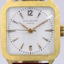 Patek Philippe Vintage Жёлтое золото 30mm Белый Aрабские