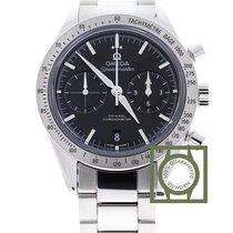 Omega Speedmaster 57 chronograph black dial steel
