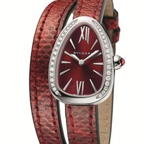 Bulgari Serpenti Steel with Diamonds Red BU102780