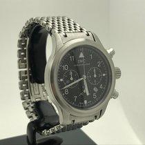 IWC Pilot Chronograph Date Stahl 3741