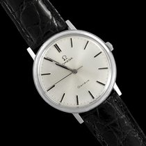 Omega 1967 Geneve Vintage Mens Handwound Dress Watch -...