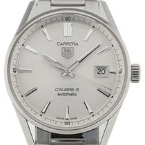 TAG Heuer Carrera Calibre 5 new 2020 Automatic Watch with original box and original papers WAR211B.BA0782