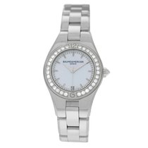 Baume & Mercier Linea Steel 26mm Mother of pearl United States of America, New York, New York