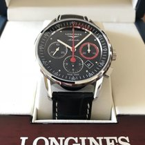 Longines Column-Wheel Chronograph L4.754.4.52.4 2015 new