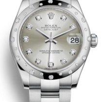 Rolex Lady-Datejust Acier 31mm Argent Sans chiffres France, Thonon les bains