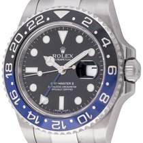 劳力士  : GMT-Master II BLNR 'Batman' :  116710BLNR :  Stainless...