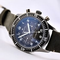 Zenith Pilot Type 20 Steel 43mm Grey Arabic numerals United States of America, New Jersey, Princeton