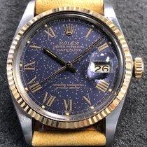 Rolex Vintage Rolex Datejust 36mm 16013 18k Yg/steel Gold...
