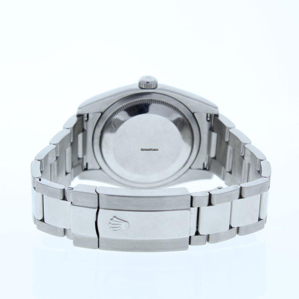 8092d054ea4 Rolex Datejust 116234 Oyster Band Silver Index Dial   White... por 6.805 €  para vender por um Seller na Chrono24