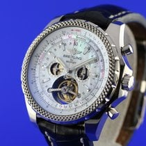 Breitling for Bentley White gold 49mm Mother of pearl