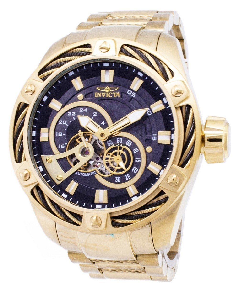 20606209b Invicta Bolt 26775 Automatic Men S Watch For 210 From A. Invicta Bolt Men  Swiss Quartz Chronograph 53mm Watch 14193 Aston Rouge