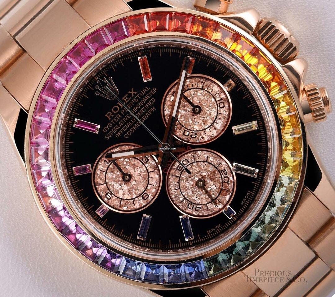 13aa5cf29b61 Buy affordable Rolex Rainbow watches on Chrono24