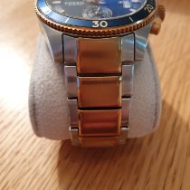 Fossil Steel 45mm Quartz ch2954p pre-owned