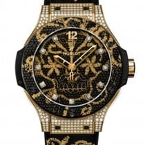 Hublot 343.VX.6580.NR.0804 Yellow gold Big Bang Broderie 41mm new United States of America, Florida, Miami