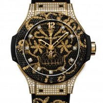 Hublot Big Bang Broderie Yellow gold 41mm Black United States of America, Florida, Miami