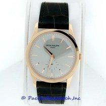 Patek Philippe Calatrava Rose gold 37mm Grey
