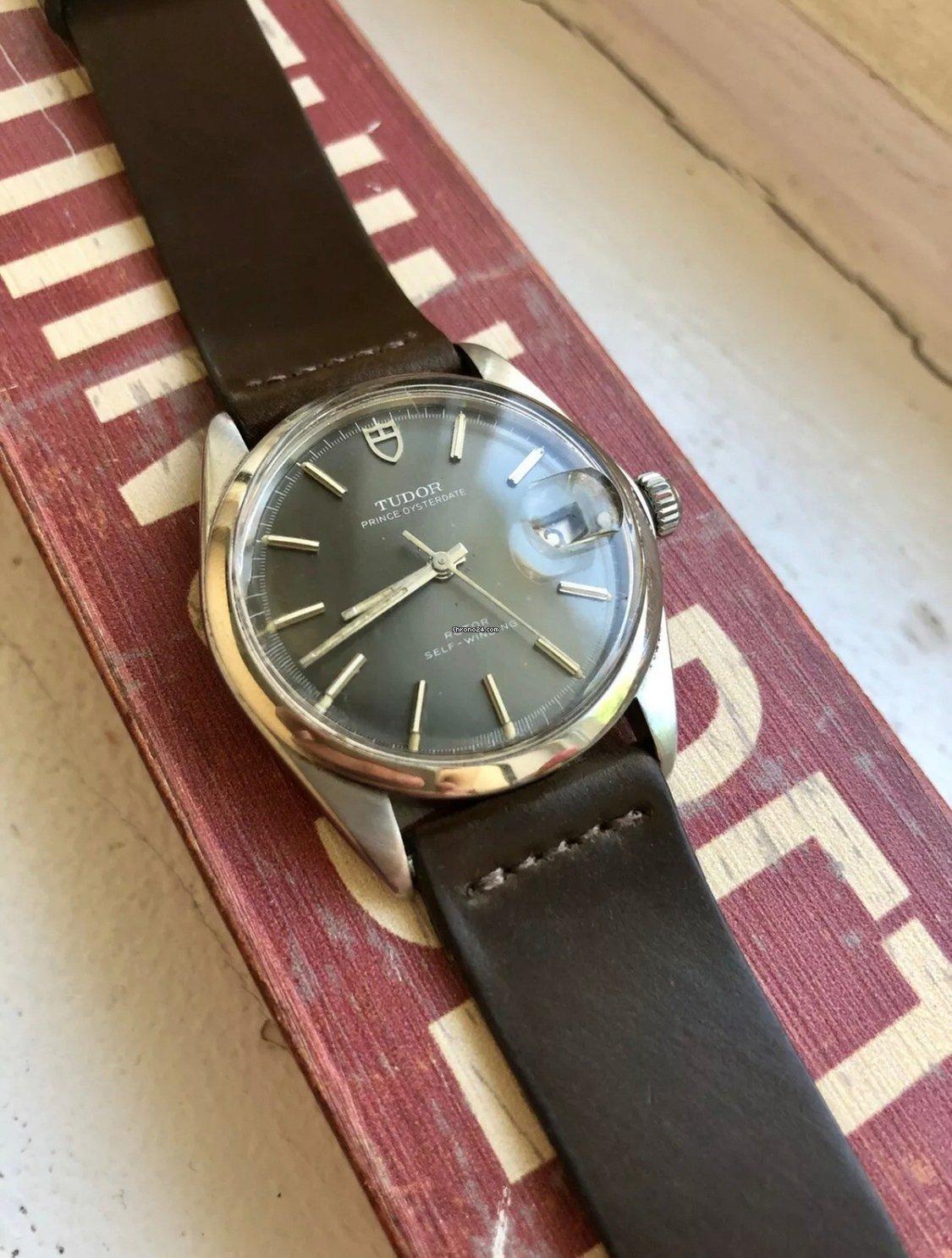 Vintage Tudor Watches >> Tudor Vintage Tudor Grey Dial Automatic Manual Wind Oysterdate