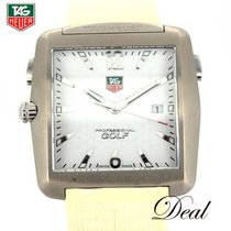 TAG Heuer Professional Golf Watch pre-owned 36mm White Rubber