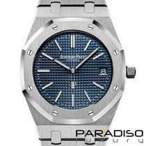 Audemars Piguet Royal Oak Jumbo new 2019 Automatic Watch with original box and original papers 15202ST.OO.1240ST.01
