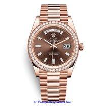 Rolex 228345 Or rose Day-Date II 40mm nouveau