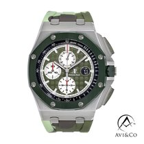 Audemars Piguet Royal Oak Offshore Chronograph 26400SO.OO.A055CA.01 État neuf Acier 44mm Remontage automatique